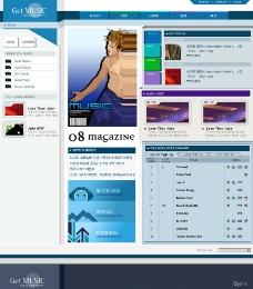 網頁模版圖片