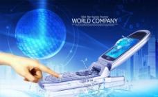 科技手机广告图片